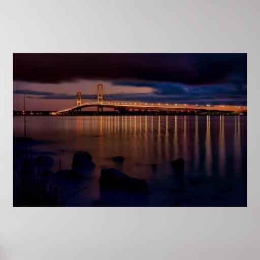 Mackinac Bridge #1257 Print
