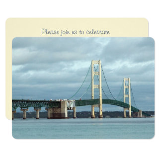 Mackinac Bridge 425 Card