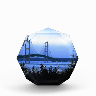 Mackinac Bridge Acrylic Award