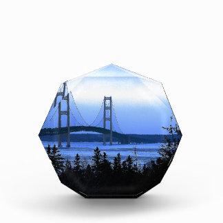 Mackinac Bridge Acrylic Award