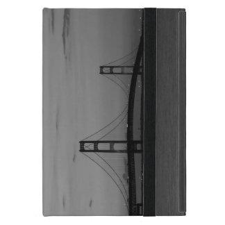 Mackinac Bridge At Dusk Grayscale iPad Mini Case