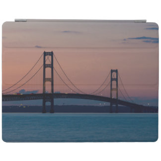 Mackinac Bridge At Dusk iPad Smart Cover