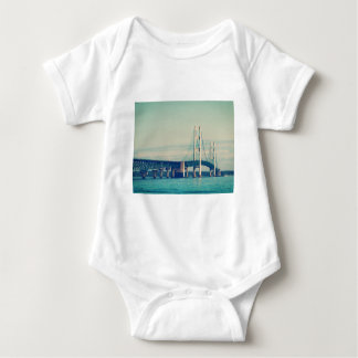 Mackinac Bridge Baby Bodysuit