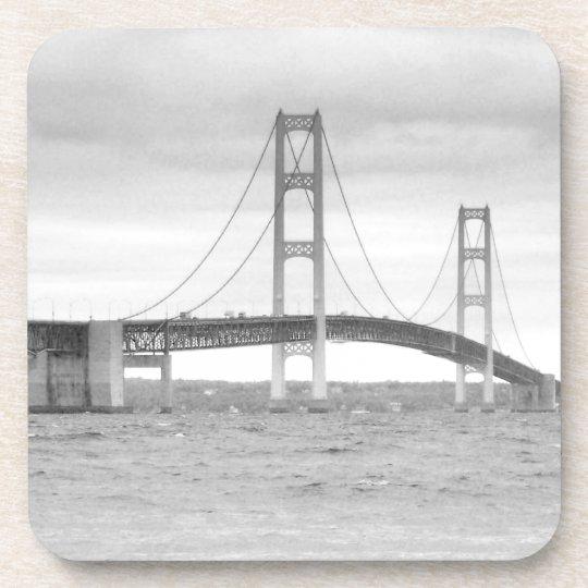 Mackinac Bridge Beverage Coaster