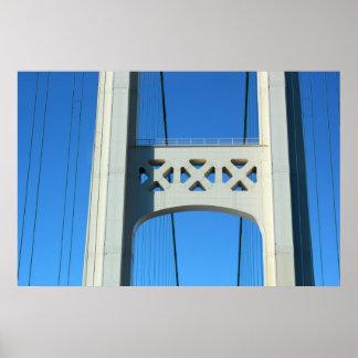 Mackinac Bridge Detail 3 Poster