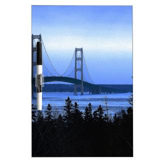 Mackinac Bridge Dry Erase Board