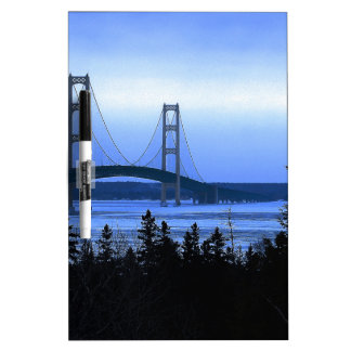 Mackinac Bridge Dry-Erase Whiteboards
