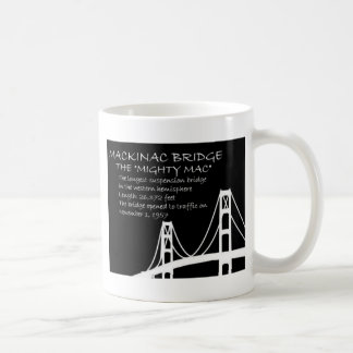 Mackinac Bridge Facts Coffee Mugs