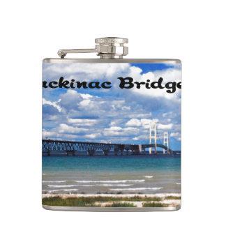 Mackinac Bridge Hip Flask