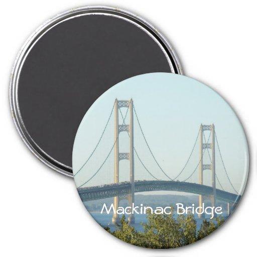 Mackinac Bridge Fridge Magnets