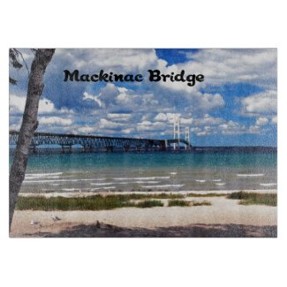 Mackinac Bridge Michigan Cutting Board
