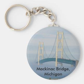 Mackinac Bridge, Michigan Keychains