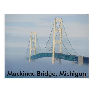Mackinac Bridge, Michigan Postcards