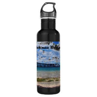 Mackinac Bridge Michigan Stainless Steel Water Bottle