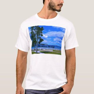 Mackinac Bridge Michigan T-Shirt