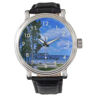 Mackinac Bridge Michigan Wrist Watch