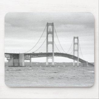 Mackinac Bridge mousepad