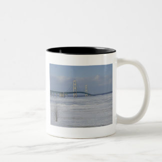 Mackinac Bridge Coffee Mugs