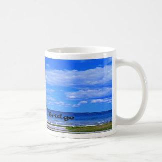 Mackinac Bridge Basic White Mug