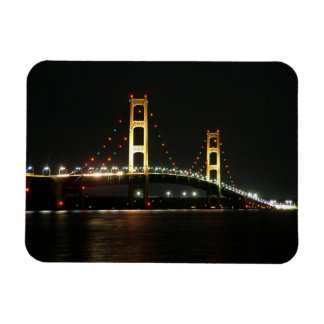 Mackinac Bridge Photo Magnet