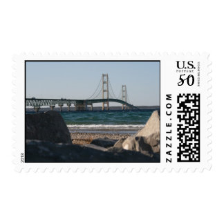 Mackinac Bridge Postage