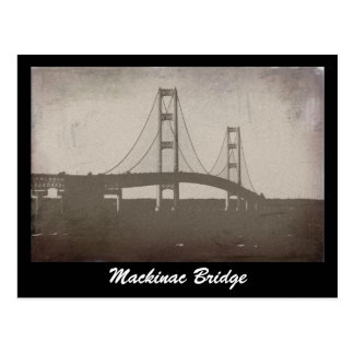 Mackinac Bridge Postcard