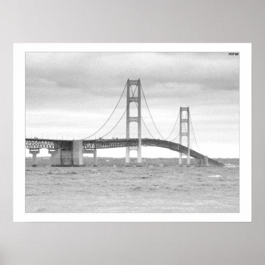 Mackinac Bridge Poster