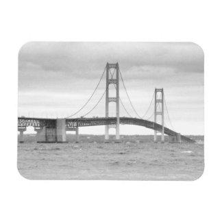 Mackinac Bridge Rectangular Photo Magnet