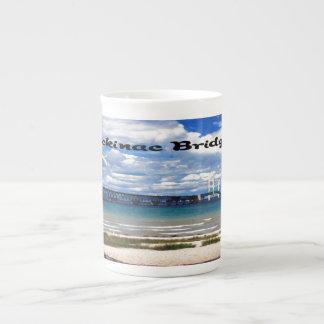Mackinac Bridge Bone China Mugs