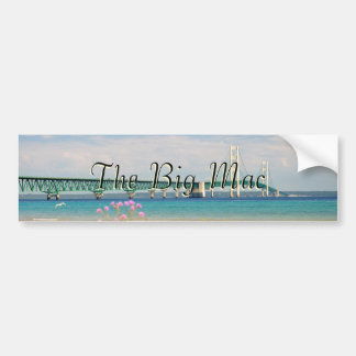 "Mackinac Bridge ""The Big Mac"" Bumper Sticker"