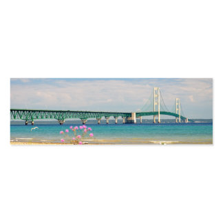 "Mackinac Bridge ""The Big Mac"" Double-Sided Mini Business Cards (Pack Of 20)"