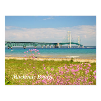 "Mackinac Bridge ""The Big Mac"" Postcard"