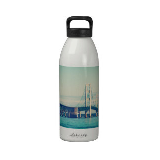 Mackinac Bridge Reusable Water Bottles