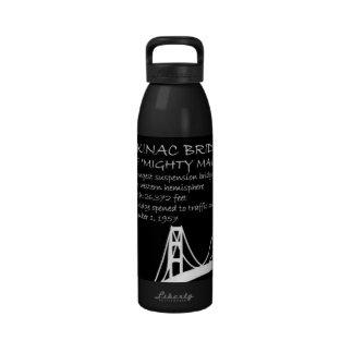 Mackinac Bridge Water Bottles