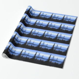 Mackinac Bridge Wrapping Paper