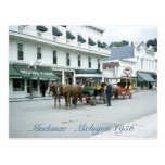 Mackinac Island 1956 Michigan Fudge Shop Post Cards