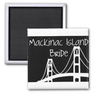 Mackinac Island Bride Magnet