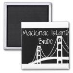 Mackinac Island Bride Refrigerator Magnet