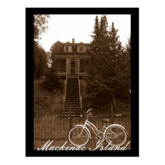 Mackinac Island Cottage Postcard