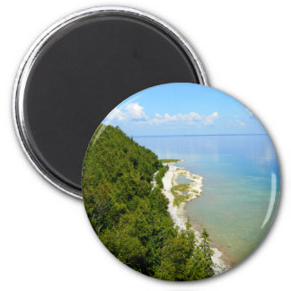 Mackinac Island Eastern Shoreline Magnet