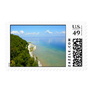 Mackinac Island Eastern Shoreline Postage Stamps