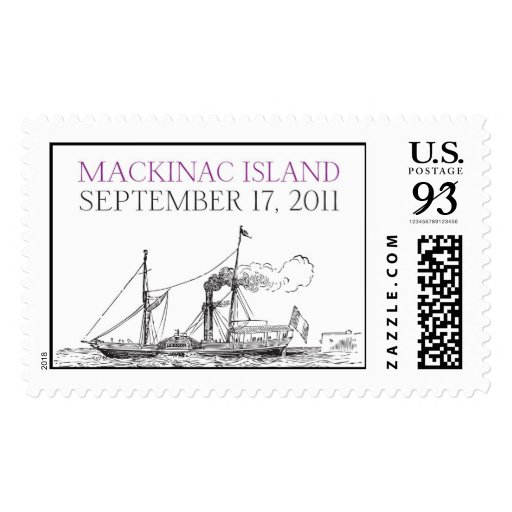 Mackinac Island Ferry Stamps