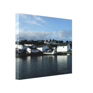 Mackinac Island From the Ferry Canvas Print