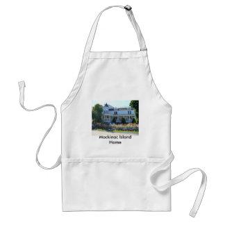 Mackinac Island Home Adult Apron