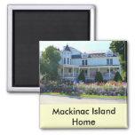 Mackinac Island Home Fridge Magnets