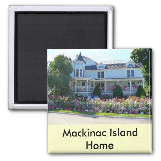 Mackinac Island Home Magnet