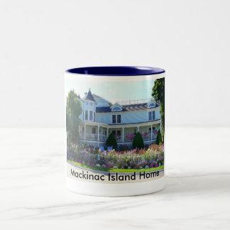 Mackinac Island Home Two-Tone Coffee Mug
