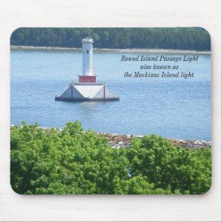 Mackinac Island Light Mouse Pad