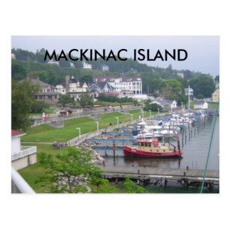 MACKINAC ISLAND MACKINAW ISLAND POSTCARD