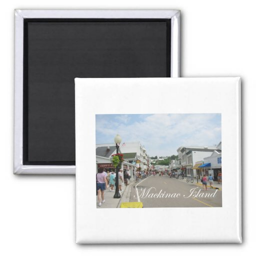 Mackinac Island Fridge Magnet